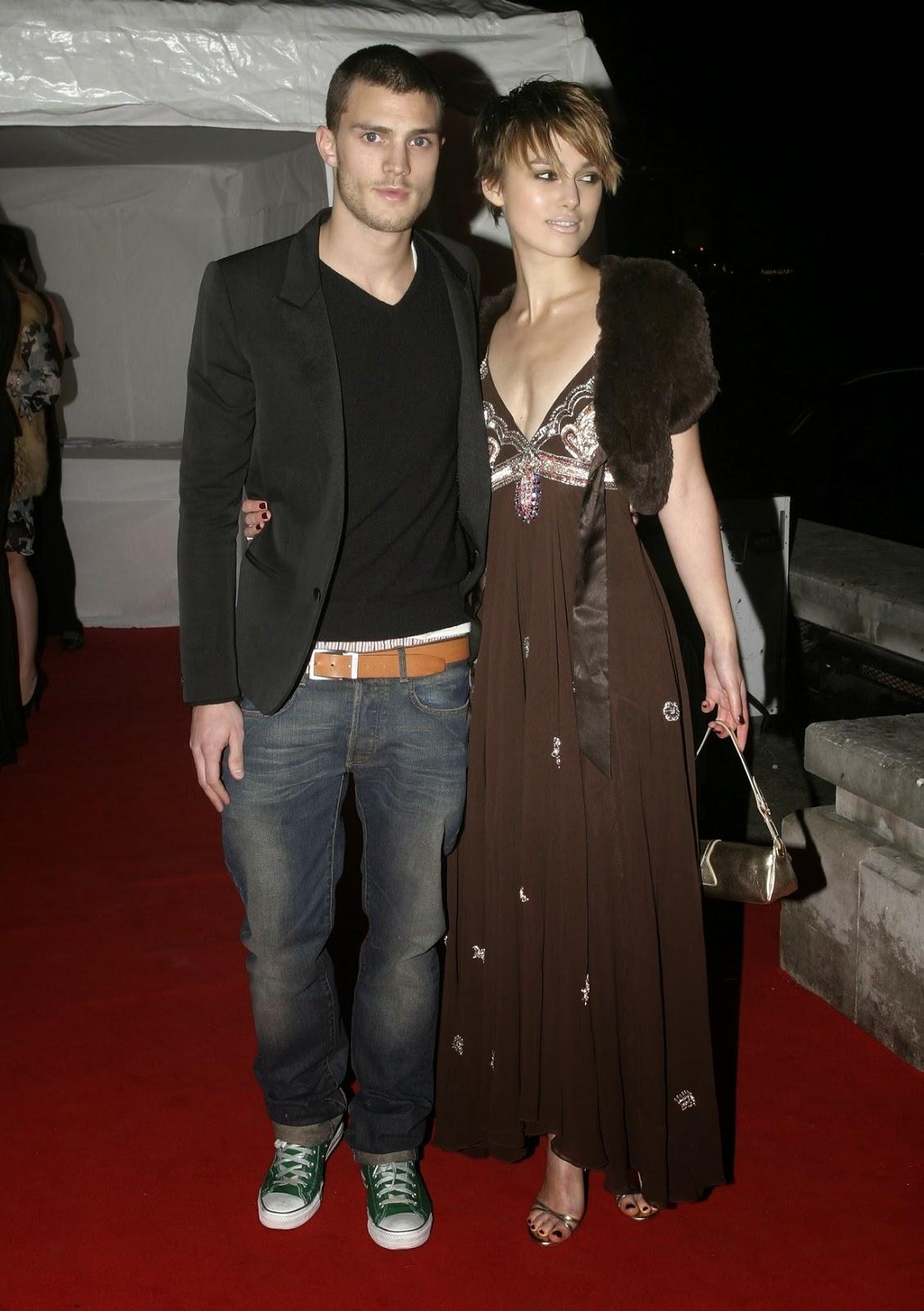 Fotos Ineditas! Jamie Dornan & Keira Knightley en Old Billingsgate Market en Londres- Feb 16- 2005