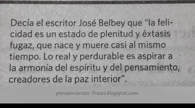 frases de José Belbey