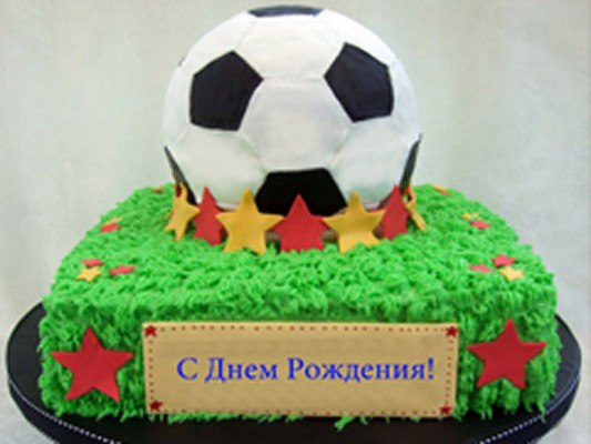 Футбольное поздравления с днем рождения