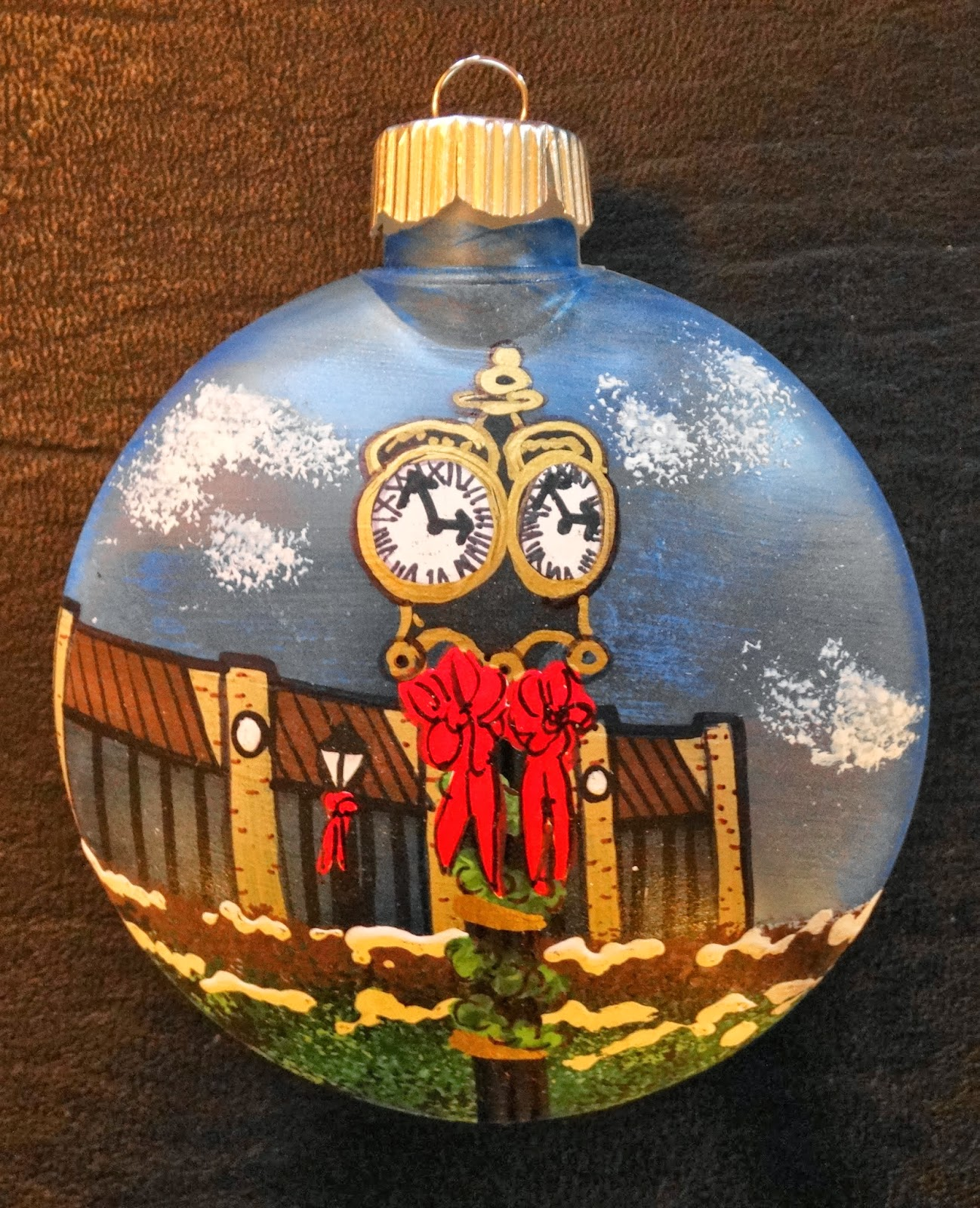 unique christmas ornaments for sale to support college fund