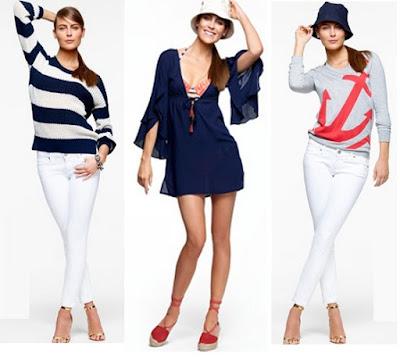 La moda náutica