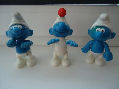 McDonalds Smurfs