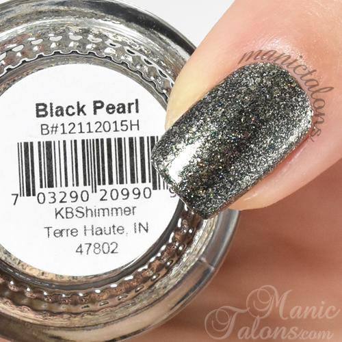 KBShimmer Black Pearl Swatch