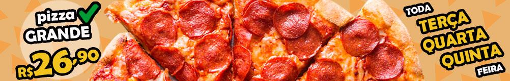 Pizzaria Regina's - Fone: 41 3366 5670