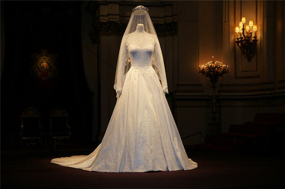 Creepy Royal Wedding Dress
