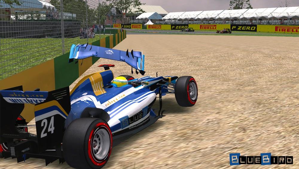 Ausztrál Nagydíj, BlueBird Racing, F1, Formula-1 Szentliga, sport, szimulátorbajnokság,