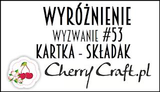 Wyróżnienie do Cherry Craft