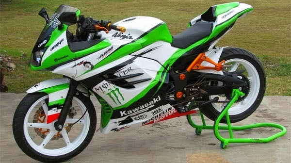 Modifications Kawasaki Ninja Cool