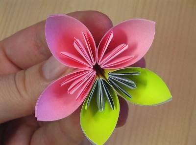 làm quả cầu hoa giấy orimagi trang trí phòng 4