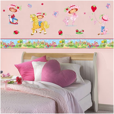 STRAWBERRY SHORTCAKE BEDROOMS DECOR - BEDDING SET : BEDROOMS ...