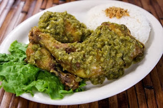 menu sahur ayam cabai hijau