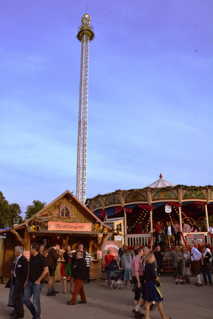 Oktoberfest Carnival 2014 freefall tower
