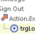 Sign Out trong Logi Info