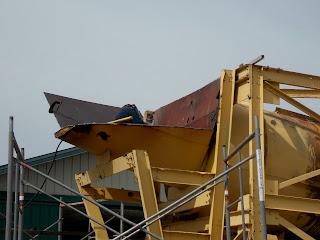 Rebuilding the gold trommel
