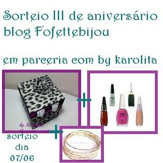 Sorteio - Fofette Bijou