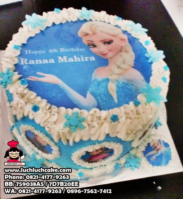 Kue Tart Frozen Dengan Foto Daerah Surabaya - Sidoarjo