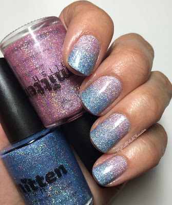 Smitten Polish Color of the Year Duo: Of Quartz It Is & Serenity NOW
