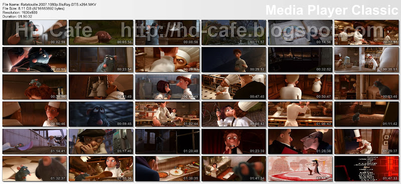 Ratatouille 2007 video thumbnails