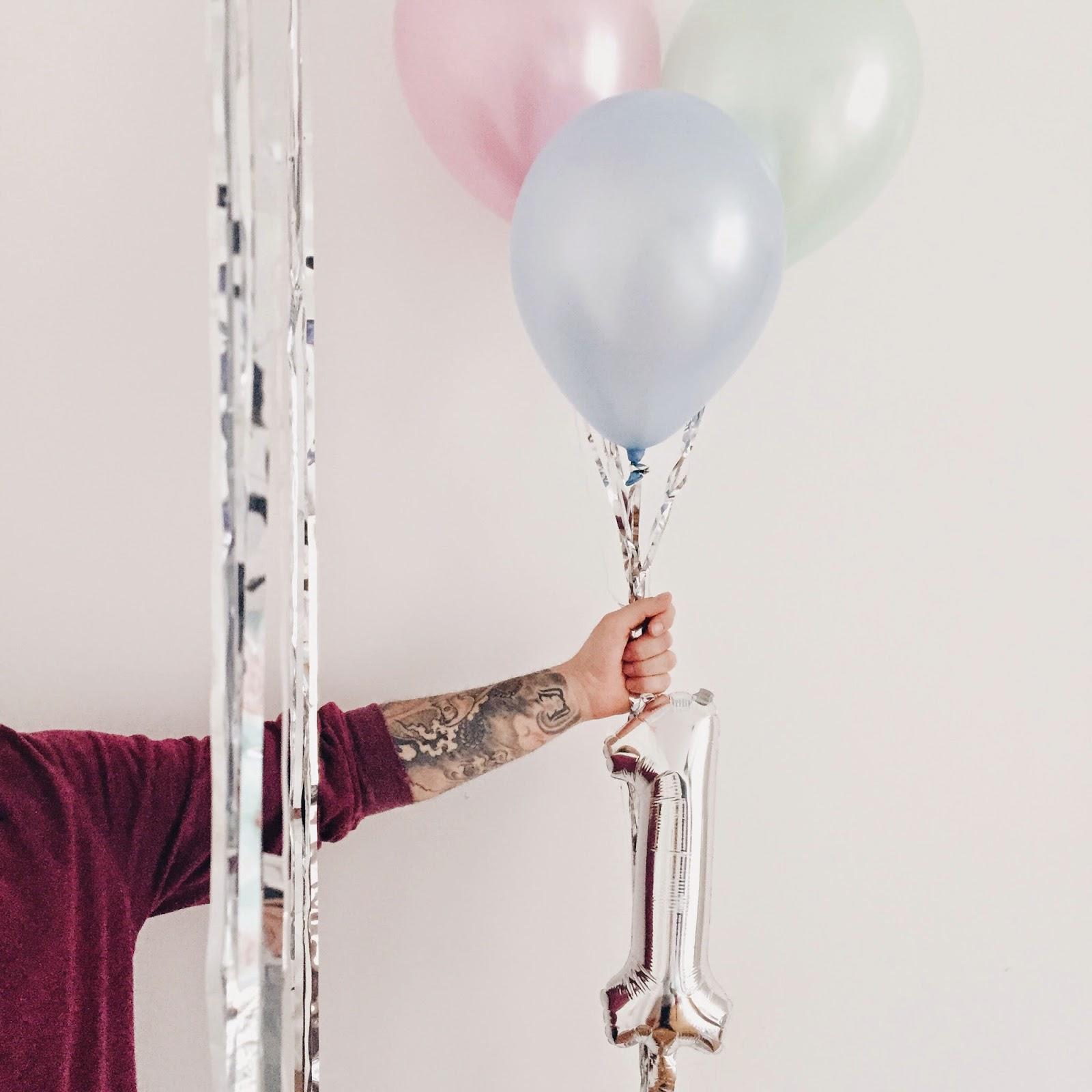 ballon dekoration kindergeburtstag