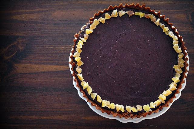 dessert girl: Sweet Testing: Dark Chocolate Tart with ...