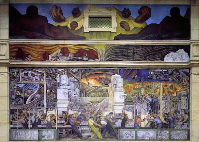 Muro norte de Diego Rivera