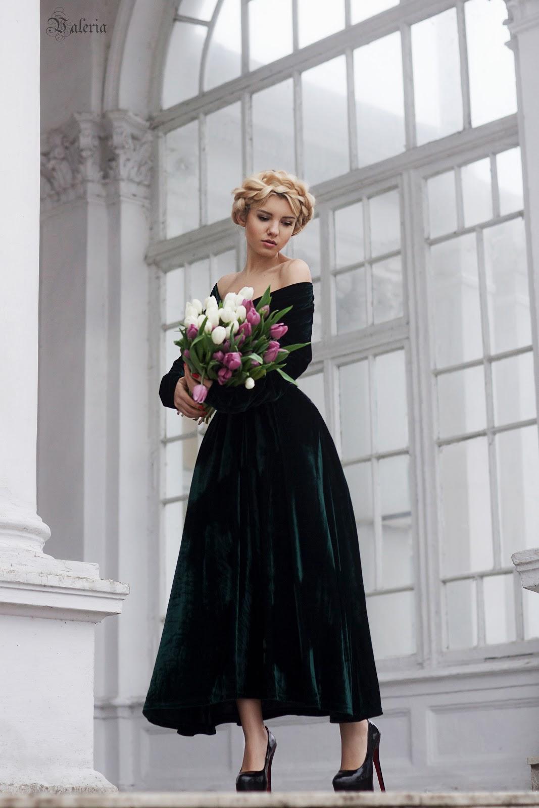fashion blog, velvet dress, fashion blogger