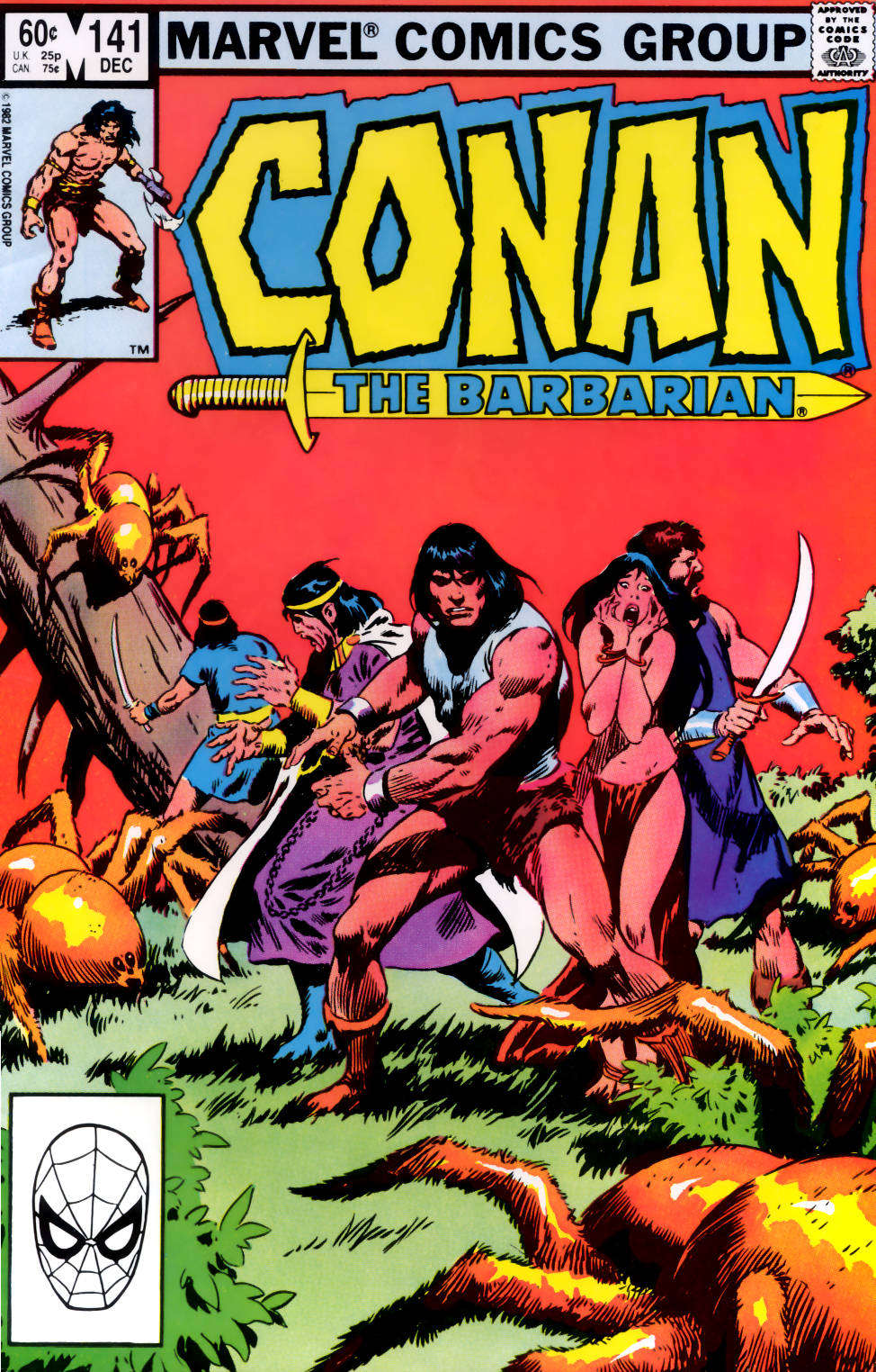 Conan the Barbarian (1970) Issue #141 #153 - English 1