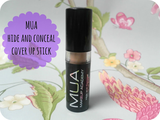 A picture of MUA Hide and Conceal Cover Up Stick