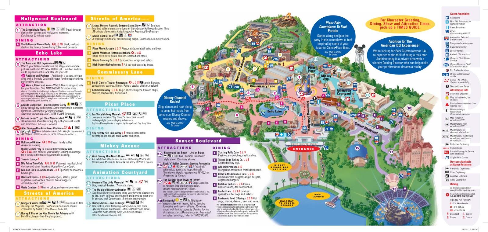 Parkscope: The New Walt Disney World Guide Maps