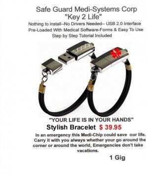 Medical Alert Bracelet Usb3