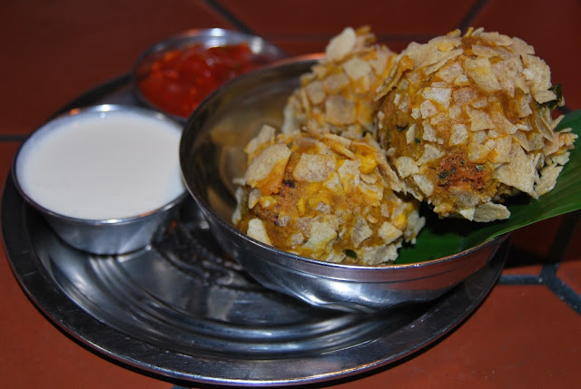 Rajma cheese crispies, The Chilli Pickle, Brighton