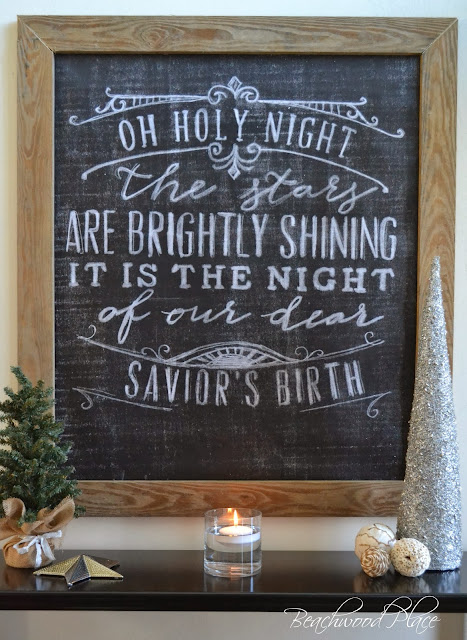 Chalkboard Christmas Art