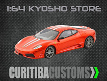 Find rare out-of-production 1:64 Kyosho at Curitiba Customs