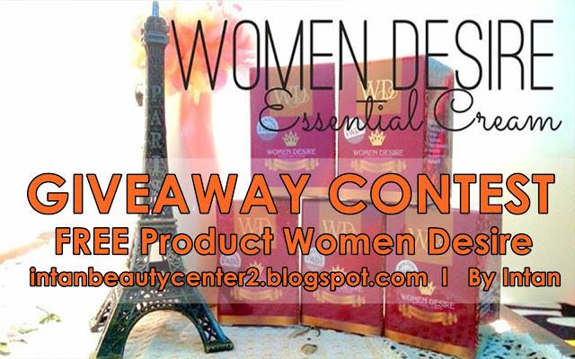 MENANG Giveaway Women Desire by Intan !