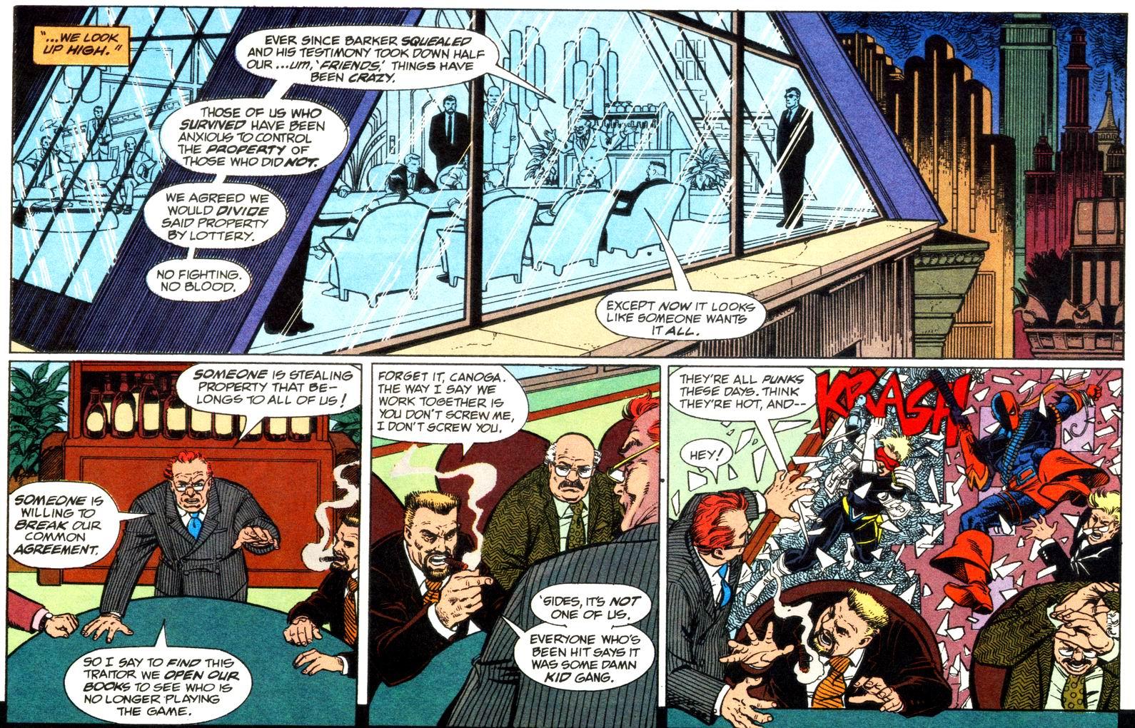 Deathstroke (1991) Issue #11 #16 - English 13