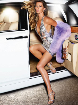 Gisele Bündchen in Vanity Fair, New York, 2007
