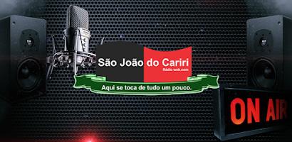 CURTA NO SEU CELULAR A RÁDIO DE SÃO JOÃO DO CARIRI