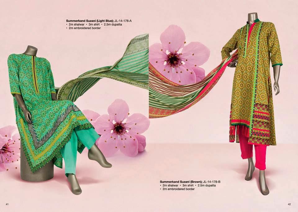 LawnPrints2014Vol 2ByJunaidJamshed 11  - Junaid Jamshed Lawn Prints 2014 VOL-2