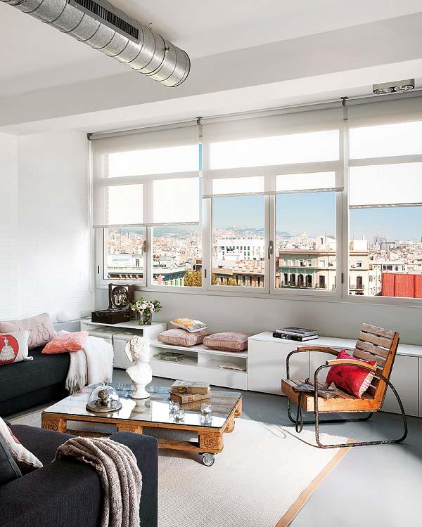 Loft cu accente industriale ?n Barcelona Jurnal de design interior