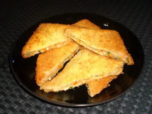 Roti Goreng Isi Sayuran