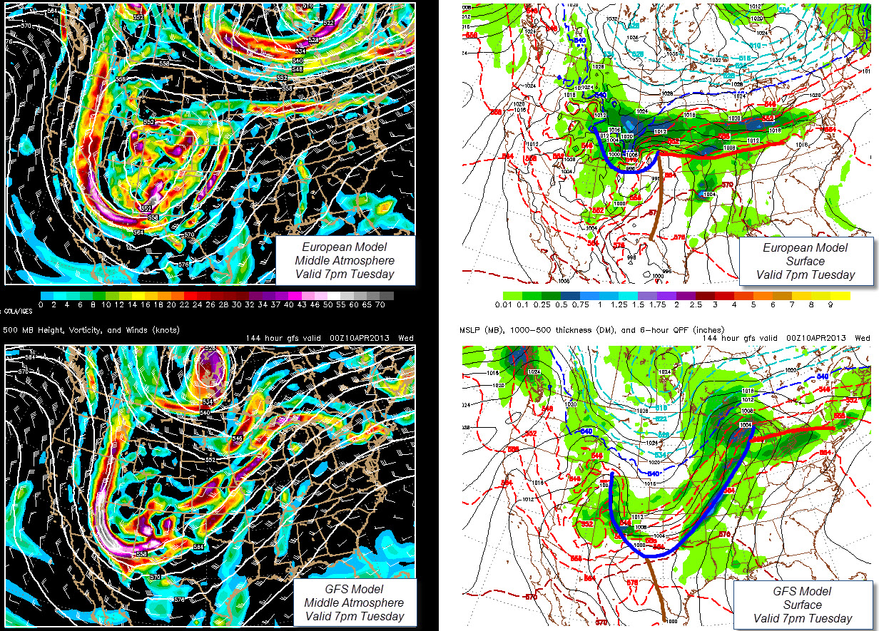 The Original Weather Blog Significant Threat Of Severe Storms - Us weather map next week
