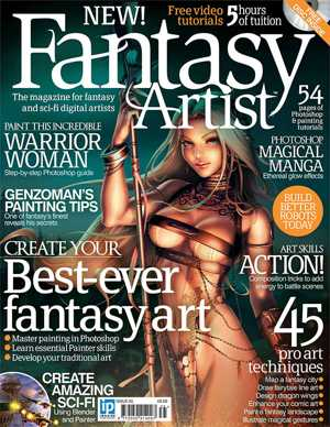 Fantasy Artist Magazine Issue 35 2012