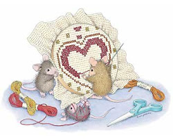 Cross Stitch Mice