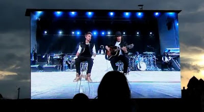 Justin Bieber performing in Oslo Norway May 30th, 2012 Video
