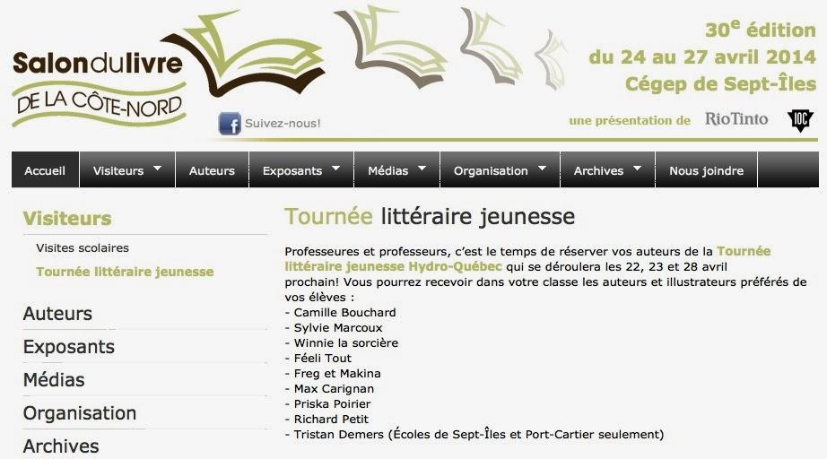 http://www.salondulivrecotenord.com/fr/tournee-litteraire-jeunesse_25/