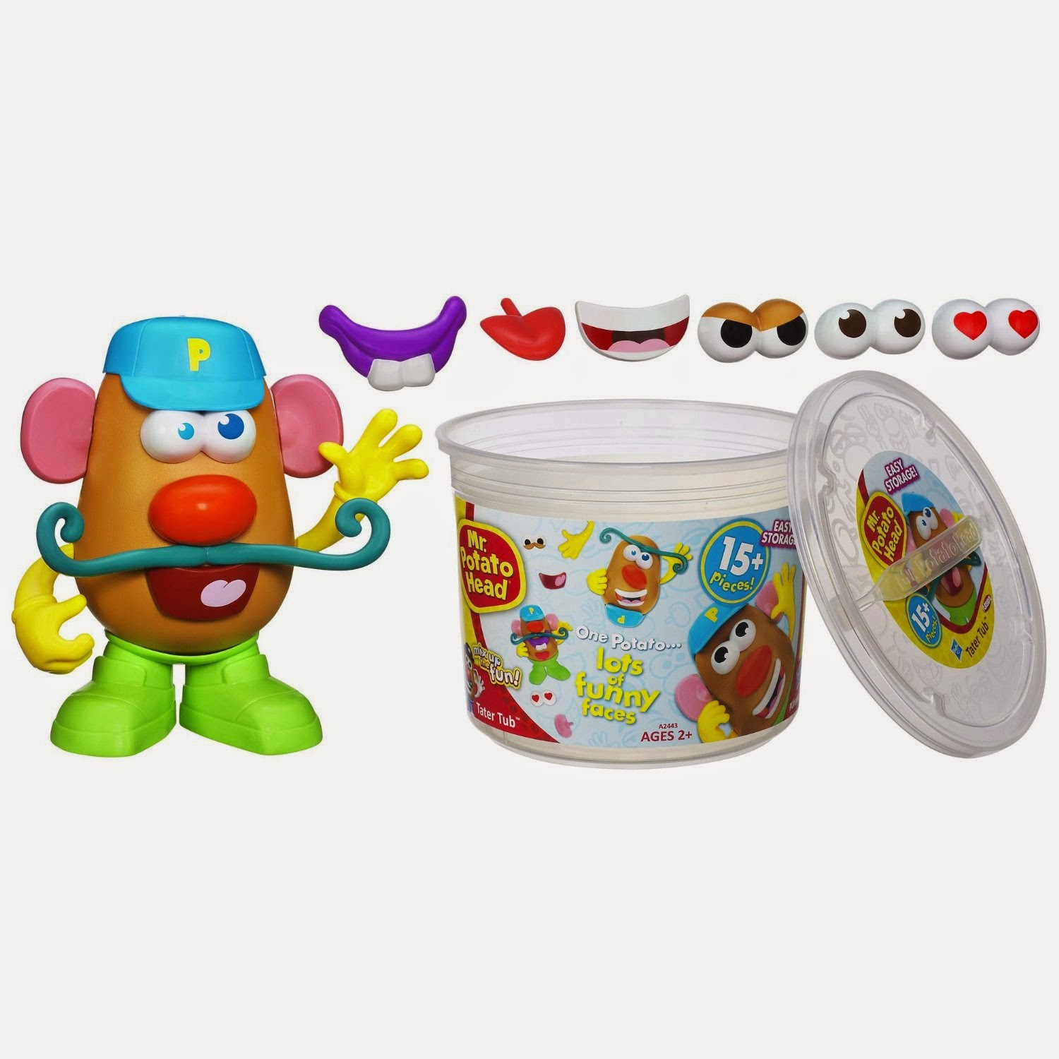 Potato Head Playskool Mr.Potato Head Tater Tub Set Best Toy