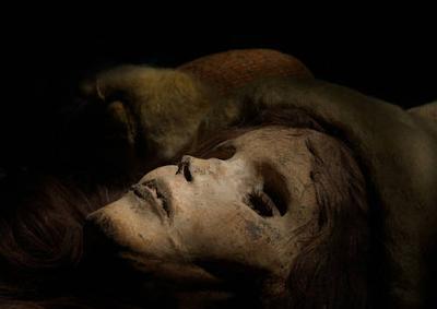La bella Xiahoe. Una momia con pestañas