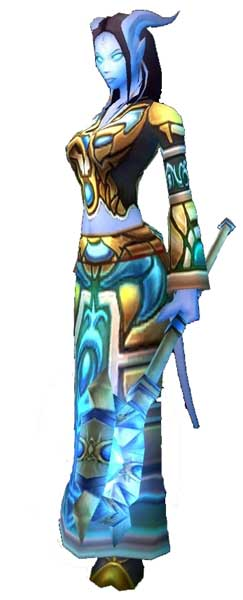 female world of warcraft characters. World of Warcraft Draeni