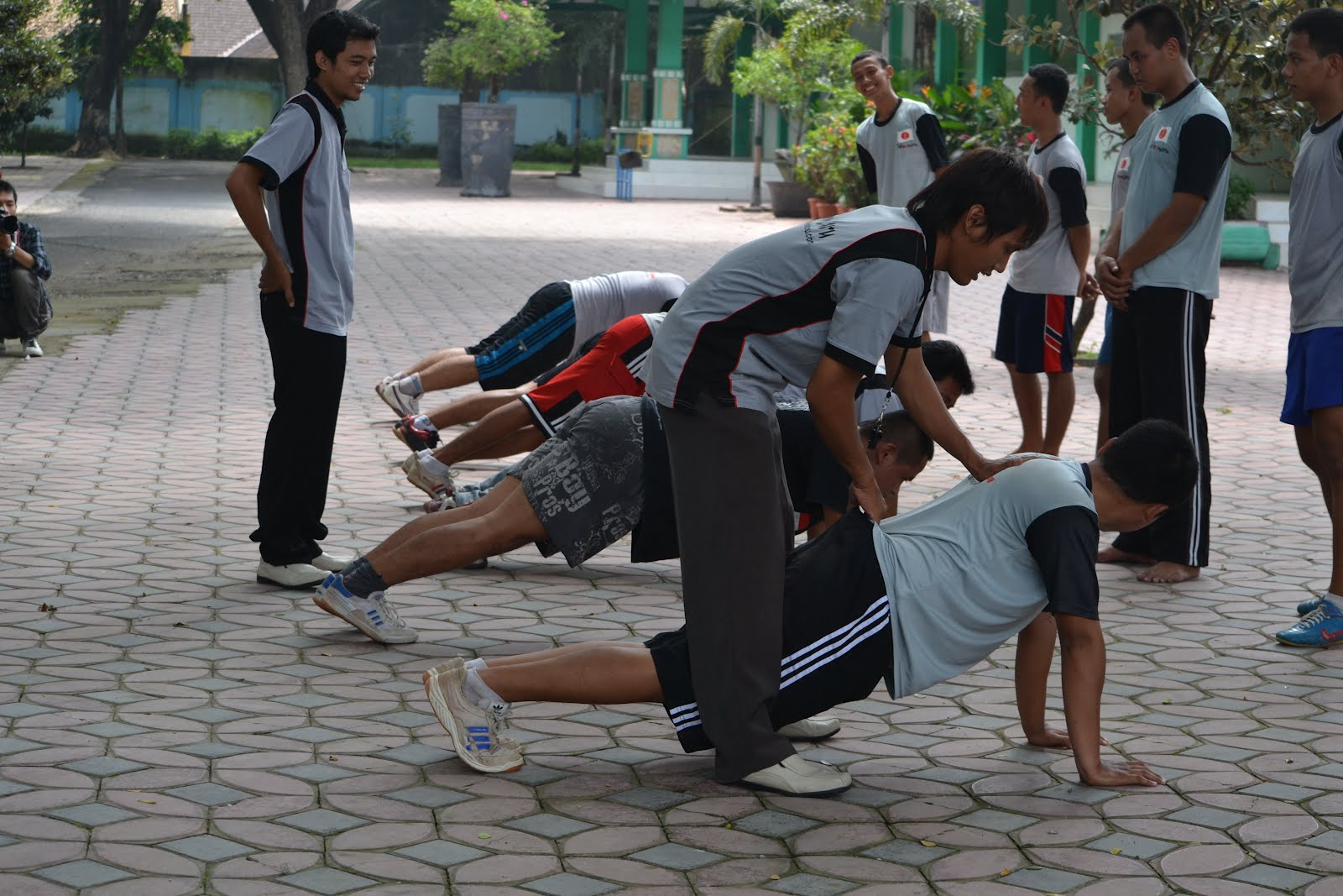 Latihan Fisik Peserta Pelatihan LPK Hinomaru Sragen Dok