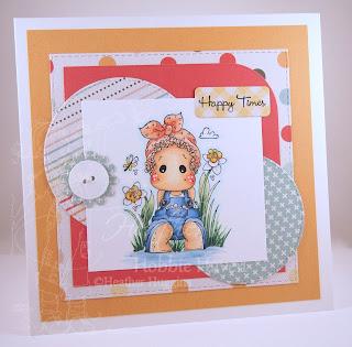 Heather's Hobbie Haven - Lacy Tilda Card Kit